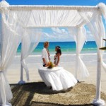 wedding beach gazibo